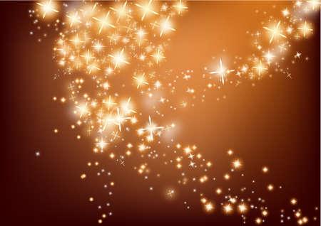 champagne celebration: Christmas flash light background
