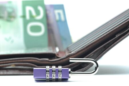 Abstract unlock your wallet Stock Photo - 8525707