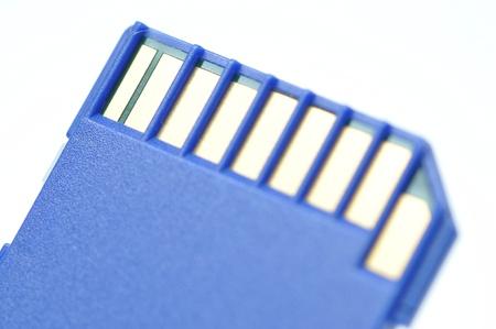 Close-up memory card  photo