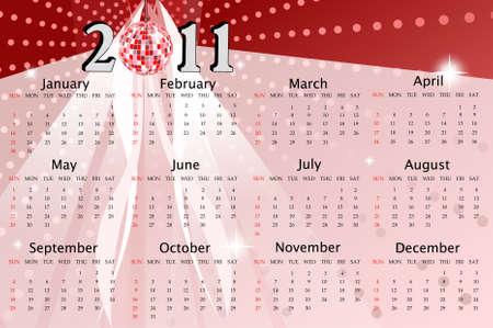 scheduler: 2011 new year calendar