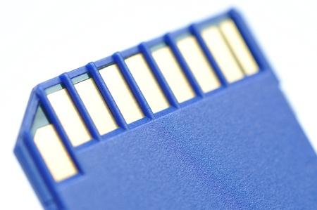 Close-up memory card  Stock Photo - 8549184