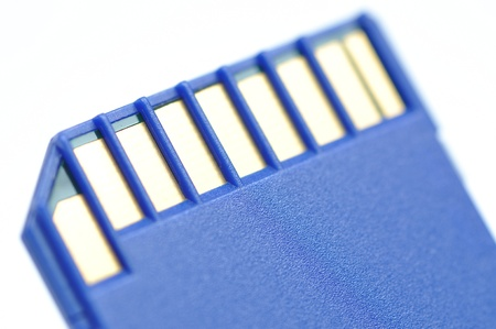 Close-up memory card Stock Photo - 8549184