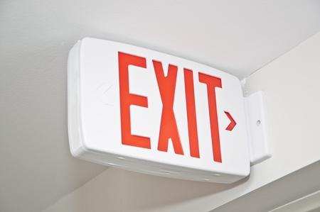 Macro Exit sign