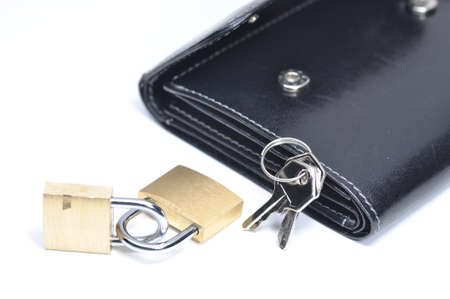 Double security for your wallet Stock Photo - 8764476