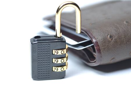Abstract unlock your wallet Stock Photo - 8871201