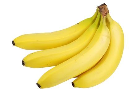 Isolated fresh banana