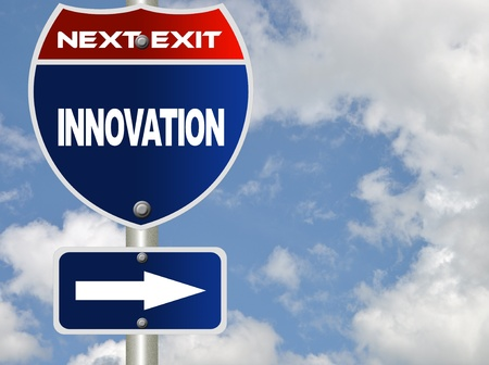 Innovation road sign photo
