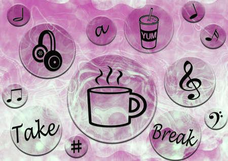 Take a break poster photo