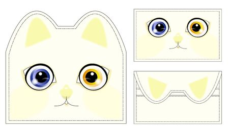 Abstract cat wallet Stock Photo - 9366311