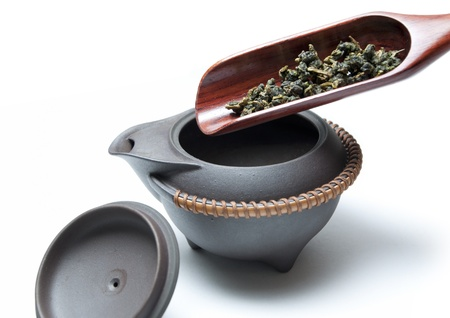 assam tea: Macro chinese tea
