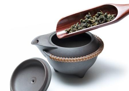 Macro chinese tea