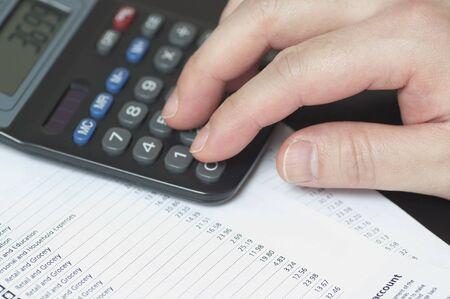 Managing bank account photo