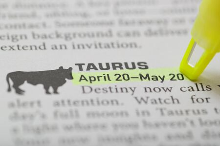 Taurus on April 20 to May 20 photo