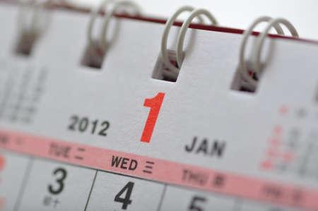 scheduler: Macro January of 2012 calendar