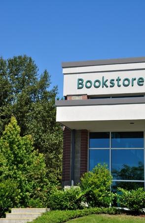 University campus bookstore photo