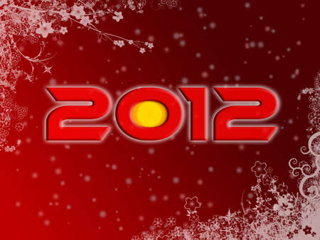 2012 christmas style poster  photo