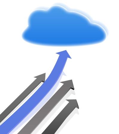 Cloud Computing  Stock Photo - 12899926