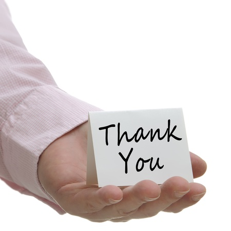 Thank You - Sign Series  photo