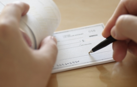 chequera: Prepare un cheque