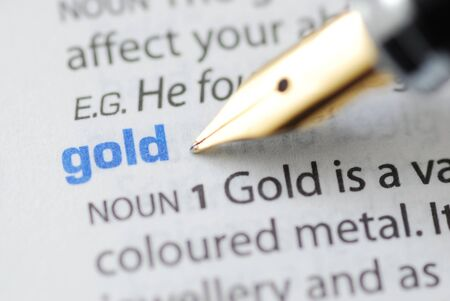 Gold - Dictionary Series  photo