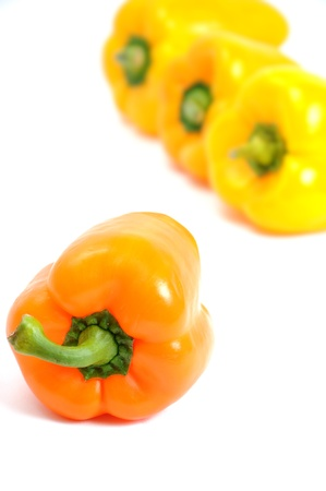 Colorful bell peppers photo