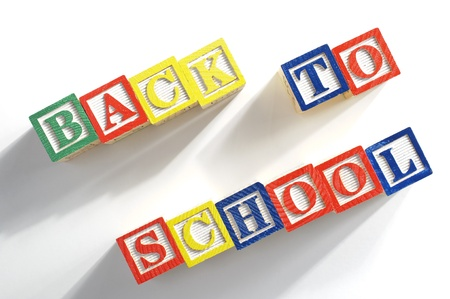 Abstract child really want to back to school  Using shadow to show that child like to fly to school
