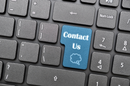 contact us: Contact us on keyboard