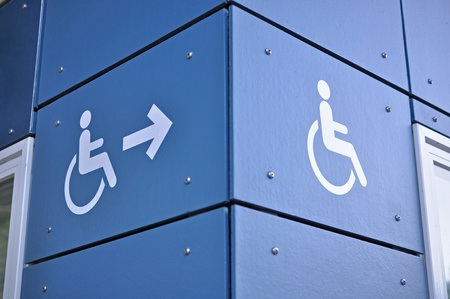 able: able access sign  Stock Photo