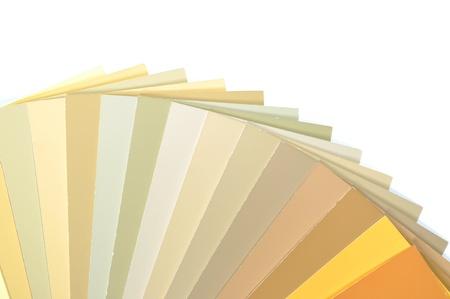 Sample colors catalogue  Banco de Imagens