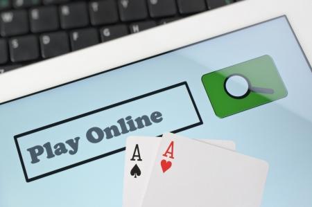 Abstract play poker  photo