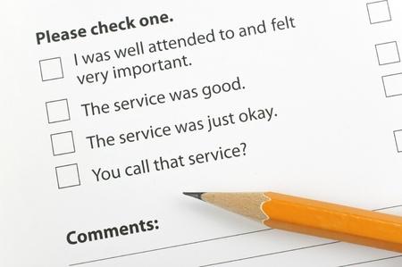 Customer feedback Stock Photo - 17747019