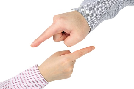 dictatorial: Abstract you are the best hand gesture