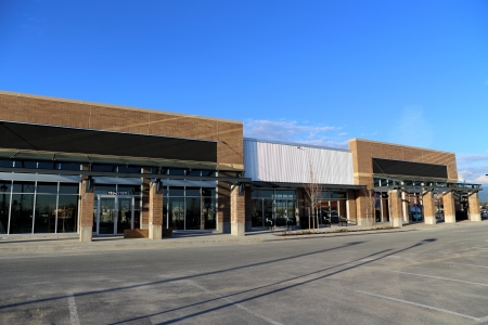 storefront: New Commercial Building with Retail and Office Space Available