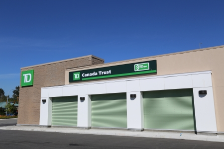 td: TD bank in Port Coquitlam BC Canada Editorial