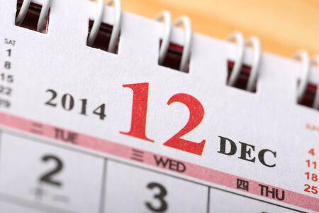 december: December 2014 - Calendar series