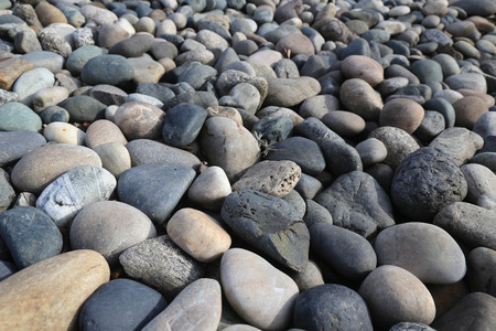 River rock background