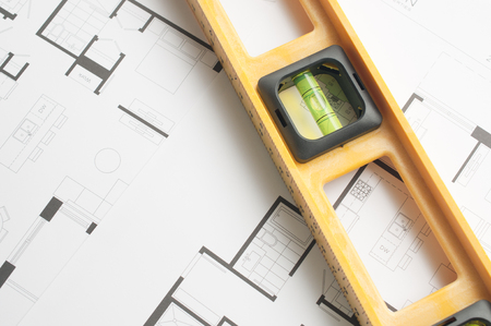 Level on an architects plan
