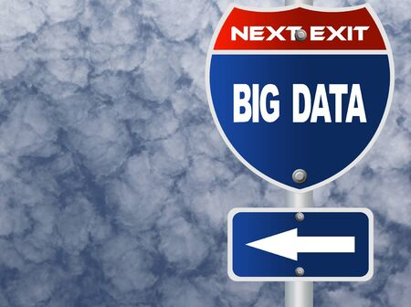 data: Big data road sign