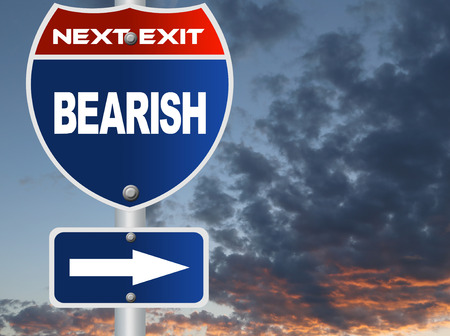bearish: Bearish road sign