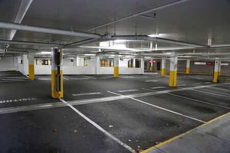 underground: Empty underground parking background