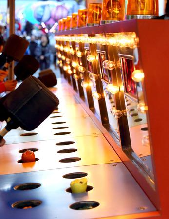Een afranseling spel op carnaval Redactioneel