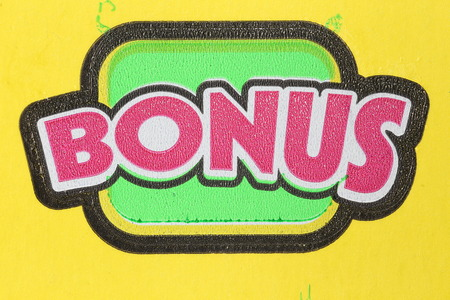 sanctioned: Coquitlam BC Canada - June 04, 2015 : Close up bonus section on lottery ticket. The British Columbia Lottery Corporation has provided government sanctioned lottery games in British Columbia since 1985.