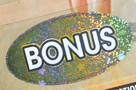 sanctioned: Coquitlam BC Canada - December 19, 2015 : Close up bonus section on lottery ticket. The British Columbia Lottery Corporation has provided government sanctioned lottery games in BC since 1985. Editorial