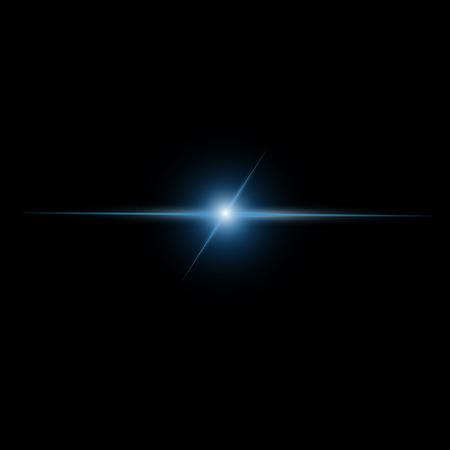 抽象的なビーム光