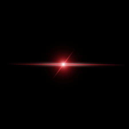 Abstract red beam Light vector Vector