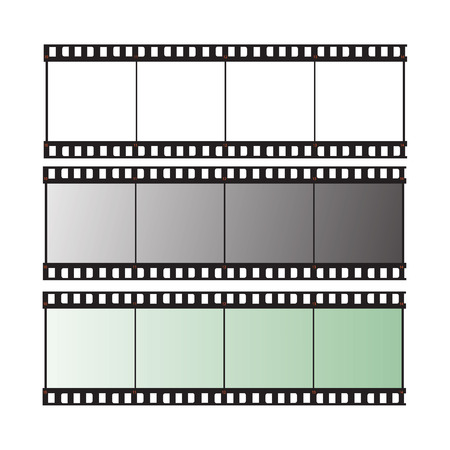 film strip vector illustration Vector