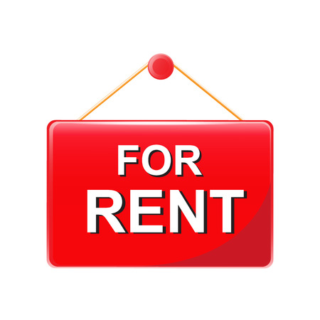 for rent sign: for rent  sign vector