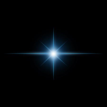 Star burst  light beam vector 일러스트