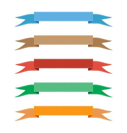 ribbon banner vector illustration Vector