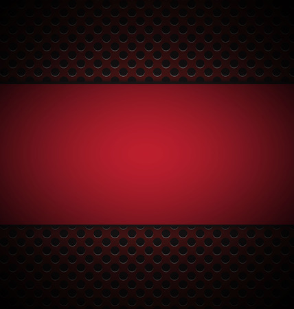 illustrate of red grill texture background. Vector